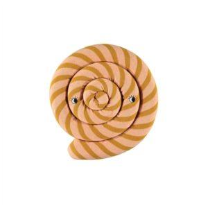 Kissen Lollipop caramel