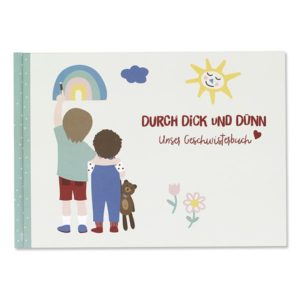 Geschwisterbuch Durch Dick und Dünn