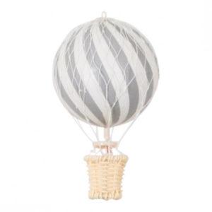 Heißluftballon silver grey