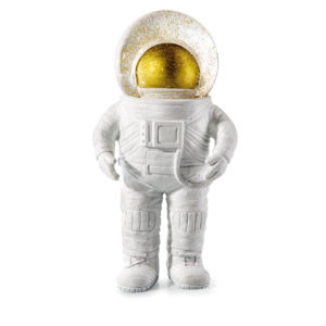 Glitzerkugel Astronaut
