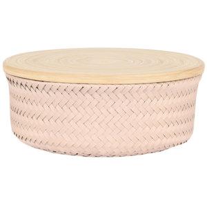 Schale mit Deckel Wonder Basket bisque
