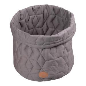 Aufbewahrungskorb Quilt grey