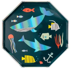 Teller Unterwasser