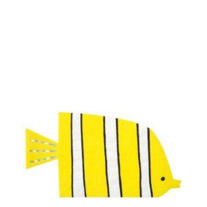 Servietten Fisch