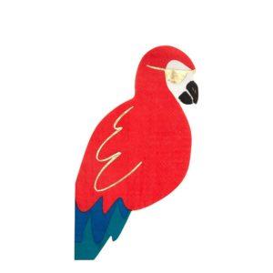 Servietten Papagei