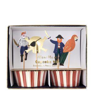 Cupcake Set Piraten