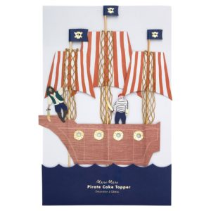 Kuchendekoration Piratenschiff