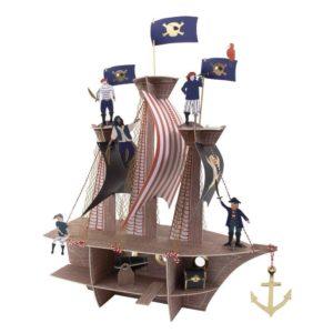 Centerpiece Piratenschiff