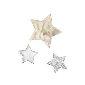 Haarspangen Sterne