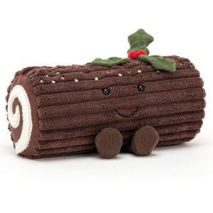 Kuscheltier Kuchen Amuseable Yule Log