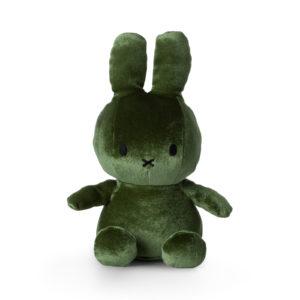 Kuscheltier Nijntje Velvet moss green