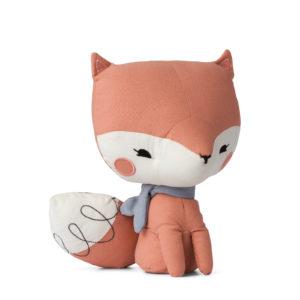 Kuscheltier in Geschenkschachtel Fox pink