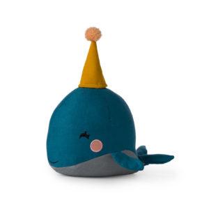 Kuscheltier in Geschenkschachtel Whale