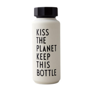 Thermosflasche Kiss the Planet