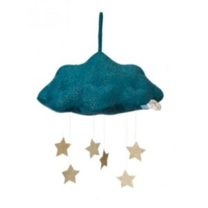 Wanddekoration Cloud with Stars